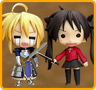 Lucky Star Fate Cosplay Set (Lucky Star & Fate/Stay)