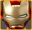 Iron Man Mark 42: Hero's Edition + Hall of Armor Set (Iron Man 3)