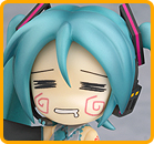 Hatsune Miku (Hachune face version) (Vocaloid)